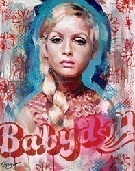 Twiggy III by Zinsky -  sized 26x32 inches. Available from Whitewall Galleries